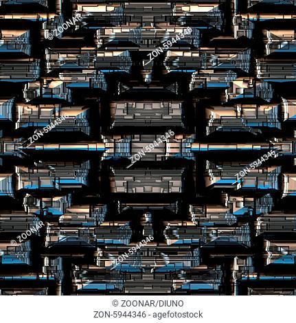 Background Pattern metallic (Seamless-Tiling)