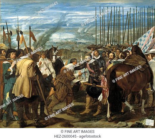 The Surrender of Breda (Las lanzas), 1635. Found in the collection of the Museo del Prado, Madrid