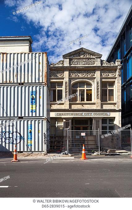 New Zealand, South Island, Christchurch, post-2011 earthquake rebuilding