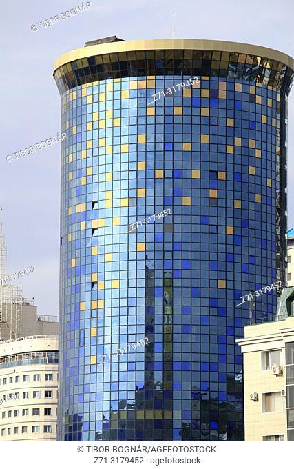 Kazakhstan; Astana, skyscraper, modern architecture,