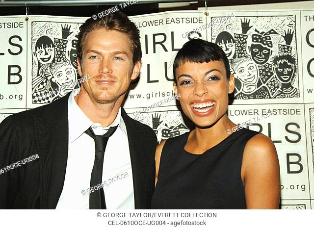 Jason Lewis, Rosario Dawson at arrivals for The Lower East Side Girls Club's 10th Birthday Willow Awards, The Prince George Ballroom, New York, NY, October 10