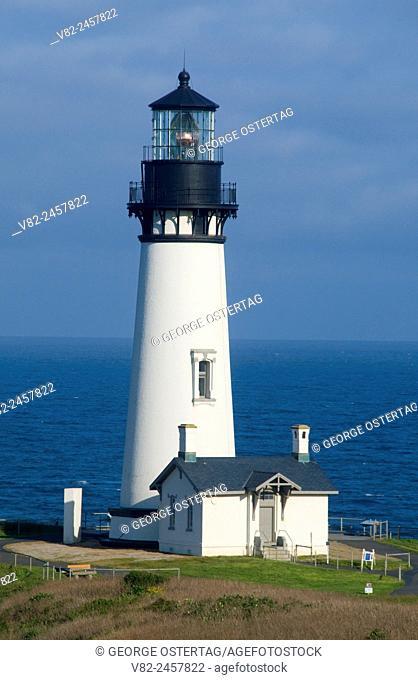 Yaquina Head Lighthouse, Yaquina Head Outstanding Natural Area, Newport, Oregon