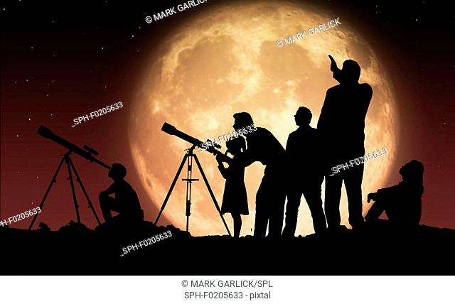Artwork of a Star Party