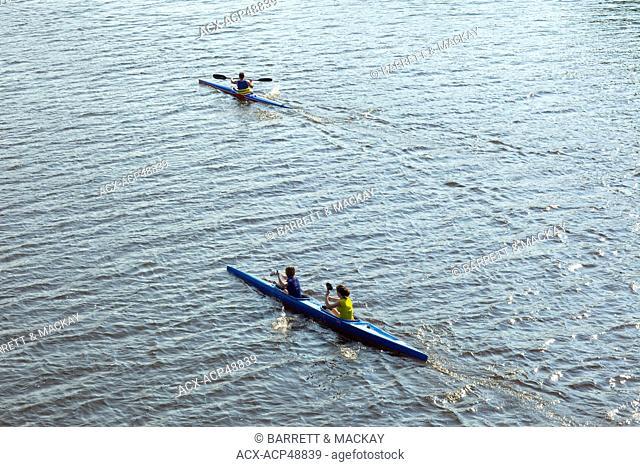Kayaking, Windsor, Nova Scotia, Canada