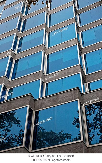 offices, Windsor's building, Diagonal avenue, Barcelona, Catalonia, Spain