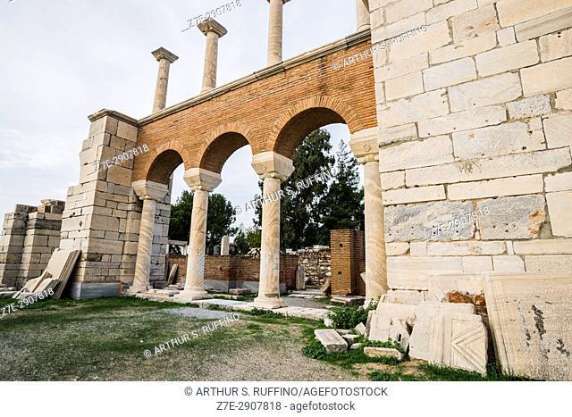 Basilica of St. John, Selçuk, Izmir Province, Turkey