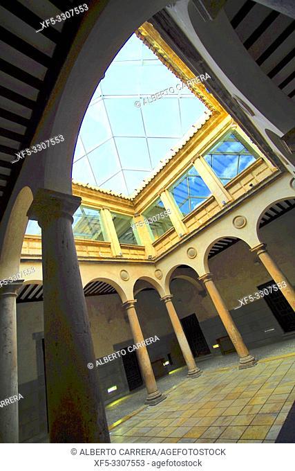 Palace of Los Castejones, 16th Century Civil Architecture, Ã. greda, Soria, Castilla y León, Spain, Europe