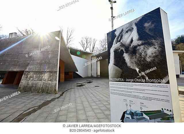 Frontones Jorge Oteiza, Azkoitia, Gipuzkoa, Basque Country, Spain, Europe
