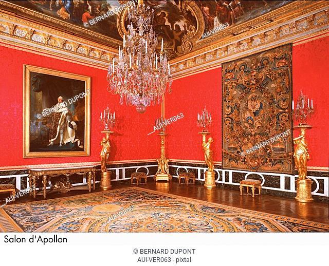 Palace of Versailles - Salon d'Apollon