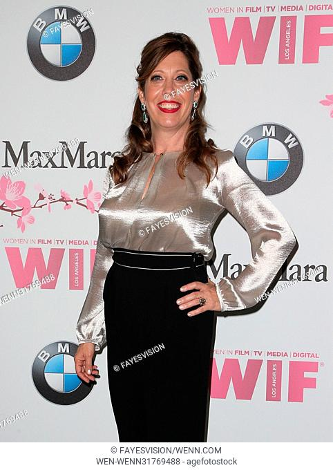 Women In Film 2017 Crystal + Lucy Awards® presented by Max Mara and BMW Featuring: Kirsten Schaffer Where: Beverly Hills, California