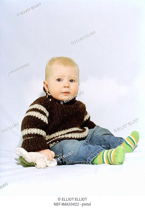 A baby portrait