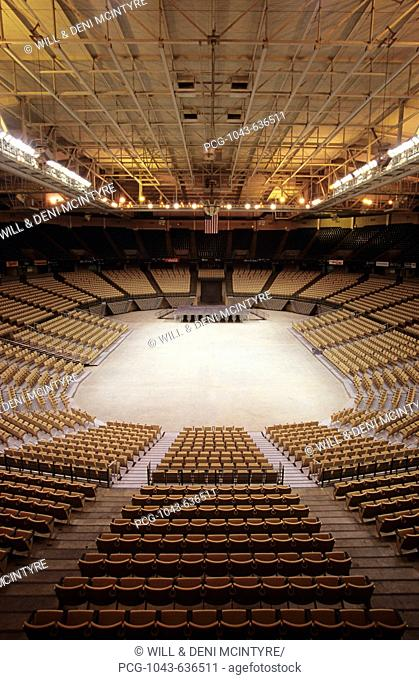 Joel Coliseum in Winston-Salem, North Carolina