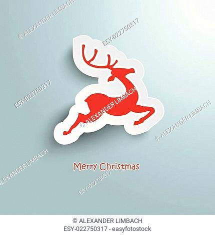 Rentier Merry Christmas