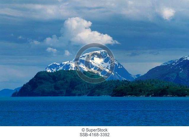 Usa, Alaska, Glacier Bay National Park, Landscape