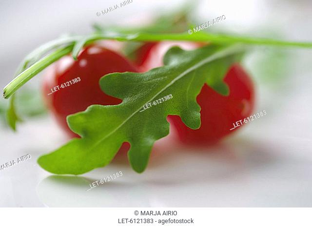 Tomatoes with rucola  Finland
