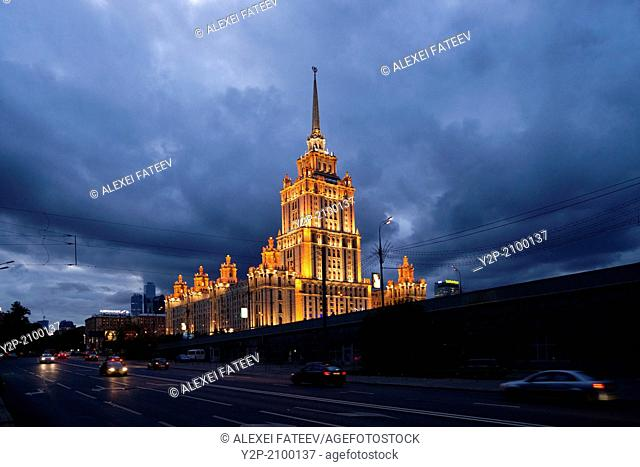 Royal Radisson hotel in Moscow