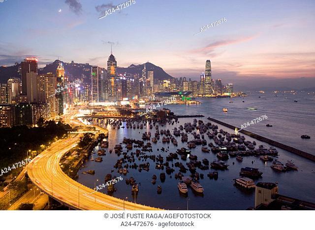 Central district, Hong Kong. China