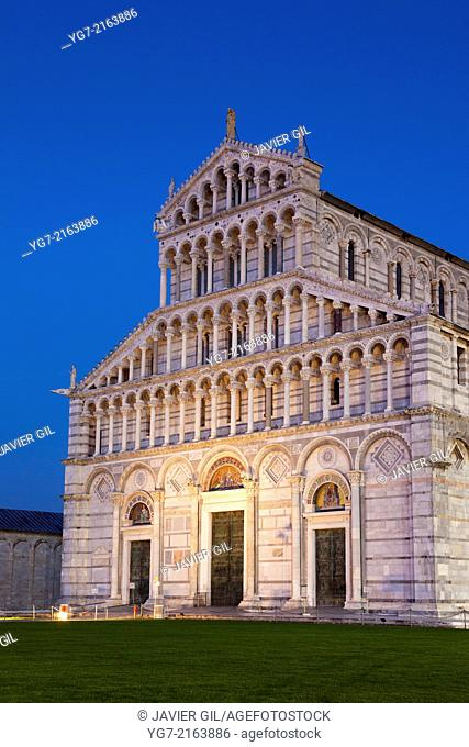 Cathedral, Piazza dei Miracoli, Pisa, Tuscany, Italy
