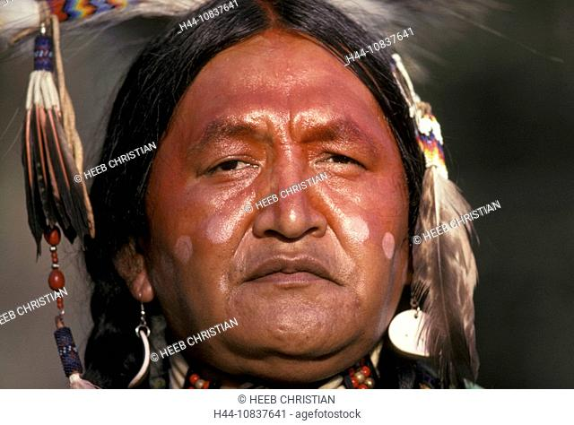 Canada, North America, America, Percy Casper, Traditional Dancer, Shuswap Tribe, Secwepemc, Chase, British Columbia, N