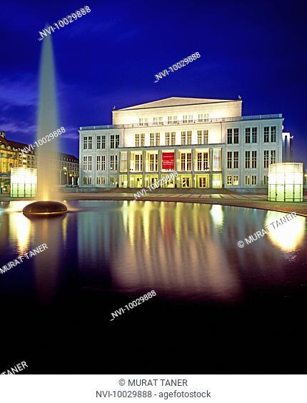 Leipzig Opera, Germany