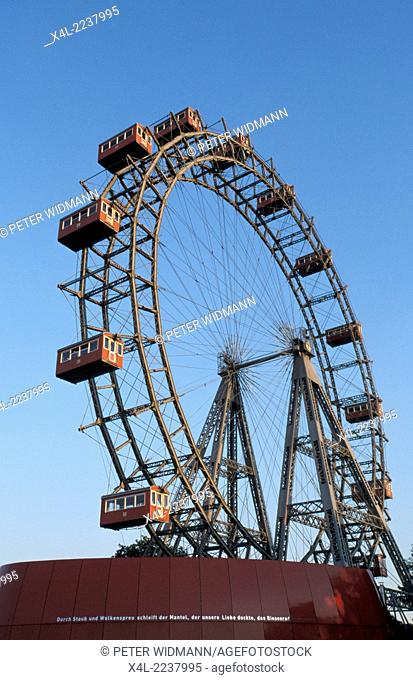 Vienna, Giant Ferry Wheel, Austria, 2. district, Prater