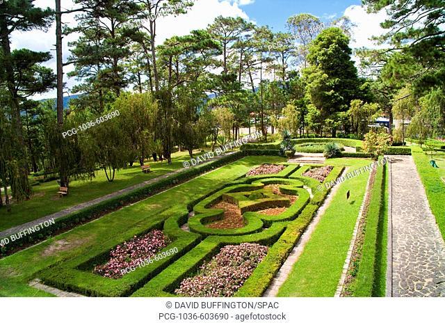Garden of Emperor Bao Dai's Summer Palace