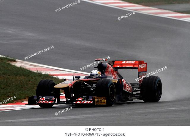 Friday Practice 2, Sébastien Buemi SUI, Scuderia Toro Rosso, STR6, F1, Korean Grand Prix, Yeongam, Korean