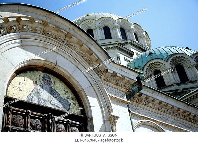 The St. Alexander Nevsky Cathedral in Sofia, the capital of Bulgaria, is one of the largest Eastern Orthodox cathedrals in the world