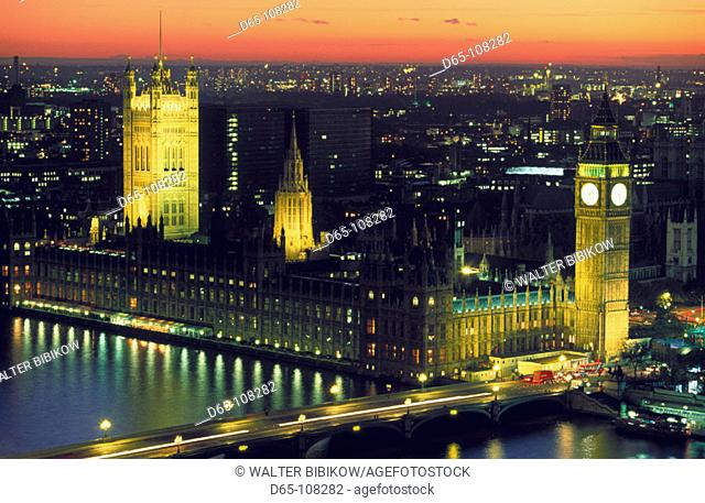 Houses of Parliament. London. England