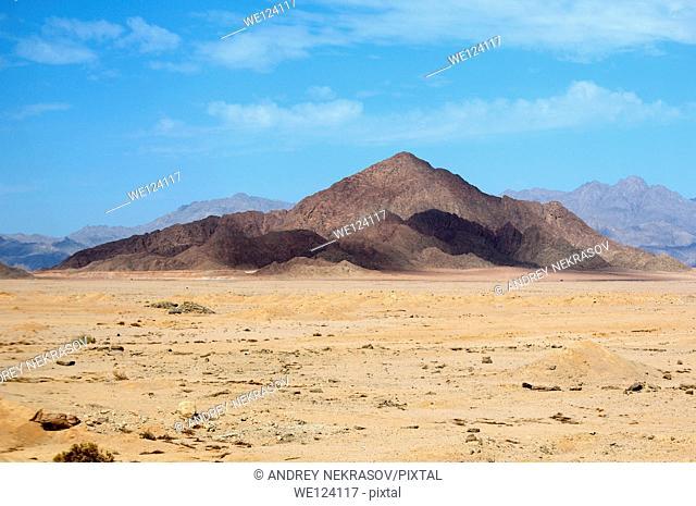 Sinai mountains, Sinai Peninsula, Egypt