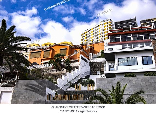 Modern architecture in Las Palmas de Gran Canaria, Canary Islands