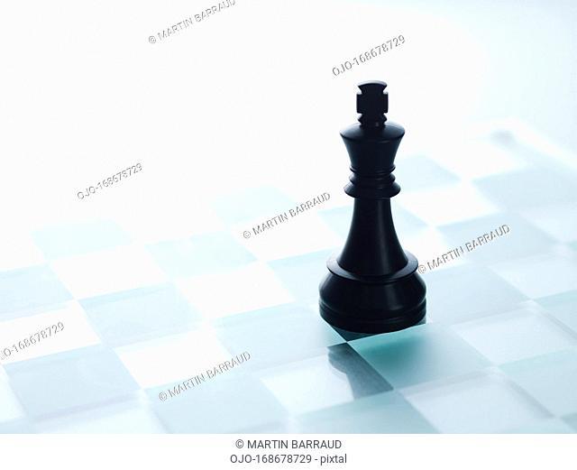 Black chess piece