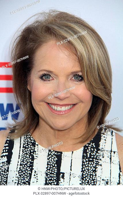 Katie Couric 05/03/2016 Los Angeles red carpet premiere event for EPIX's Under the Gun held at The Samuel Goldwyn Theater in Beverly Hills