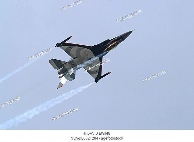 Fighter Jet speeds past at Air Show in Malta