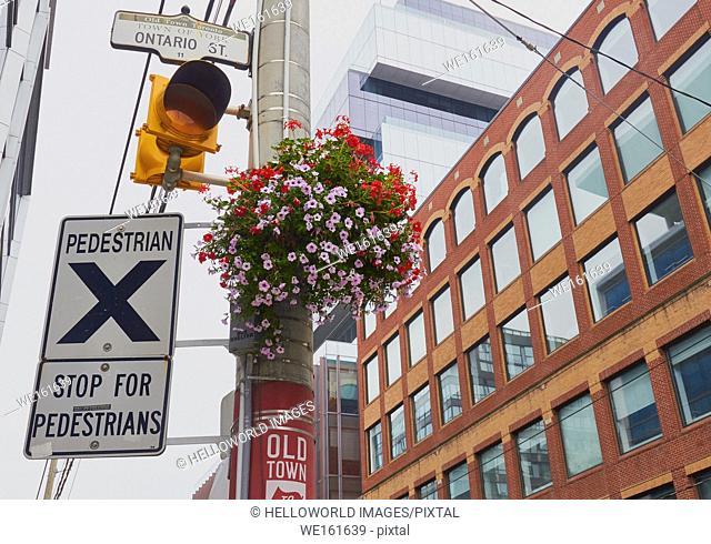 Old Town Toronto, Ontario, Canada