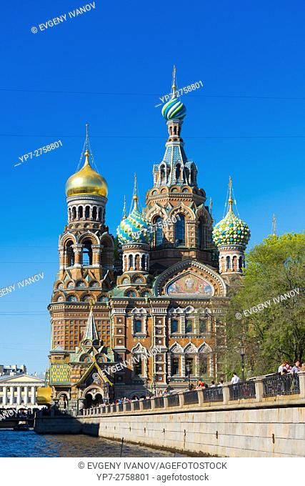 Savior on the Spilled Blood Cathedral, St. -Petersburg