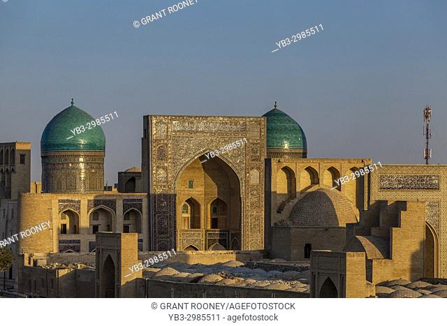 The Skyline Of The Historic Centre Of Bukhara, Uzbekistan
