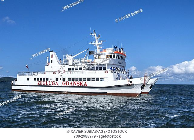 Ferryboat, Sopot, Gdansk, Poland