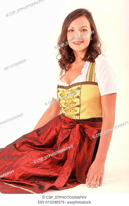 Integrated woman in Bavaria