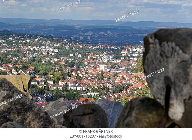 View on Stuttgart from Birkenkopf