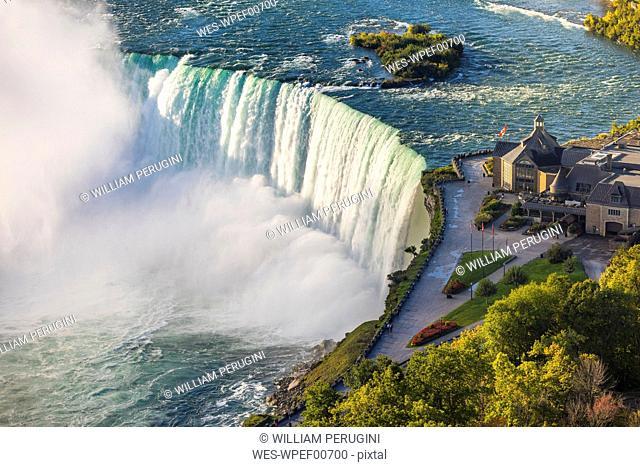 Canada, Ontario, Niagara Falls, aerial view