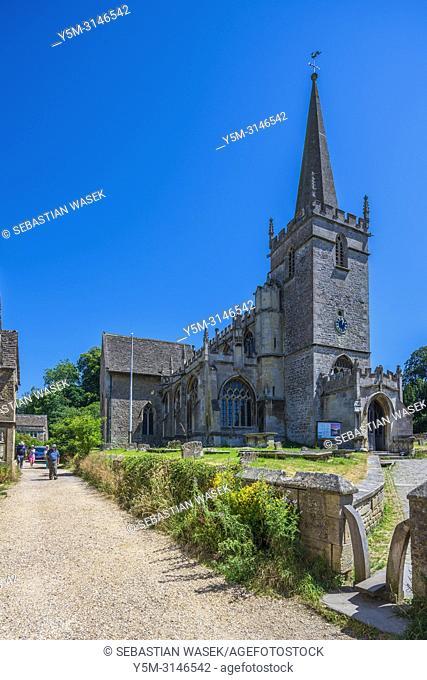 St Cyriac's Church, Lacock, Wiltshire, England, United Kingdom, Europe