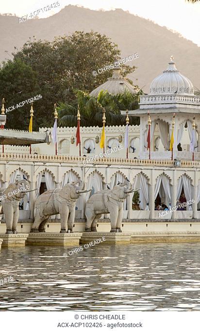 Jag Mandir on Lake Pichola, Udaipur, Rajastan, India