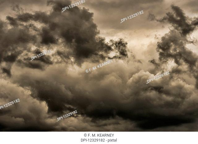 Storm Clouds; New York, United States Of America