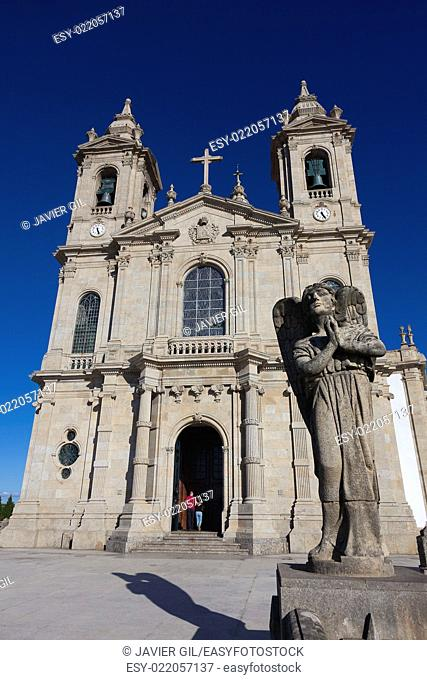 Sanctuary of Sameiro, Braga, Nord, Portugal