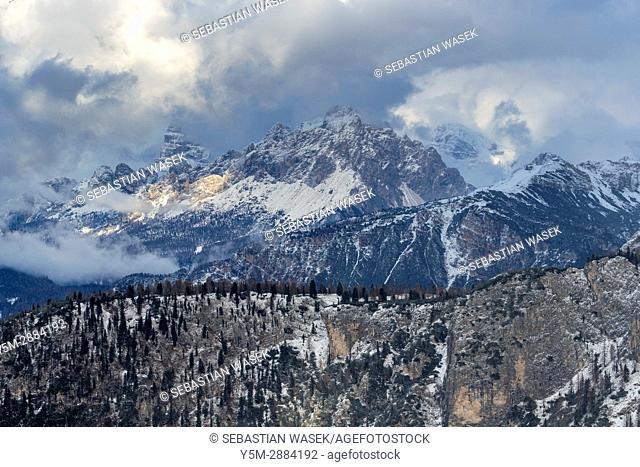 Passo Giau, Cortina D'Ampezzo, Province of Belluno, region of Veneto, Italy, Europe