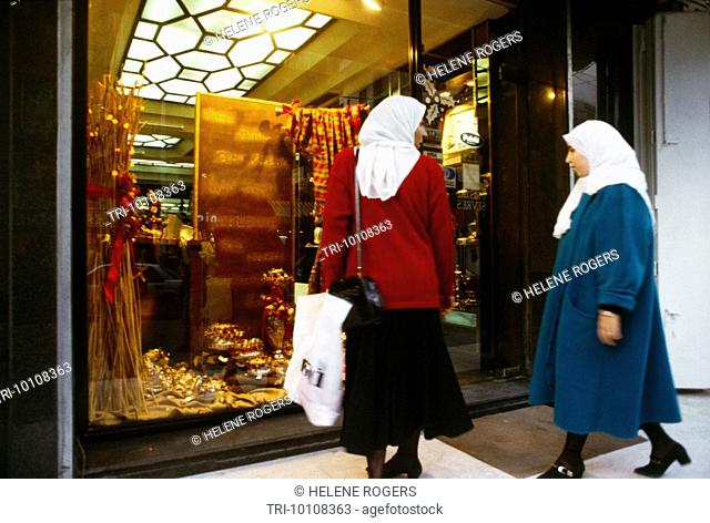 Beirut Lebanon Recon. Hamra Women Shopping New Boutique