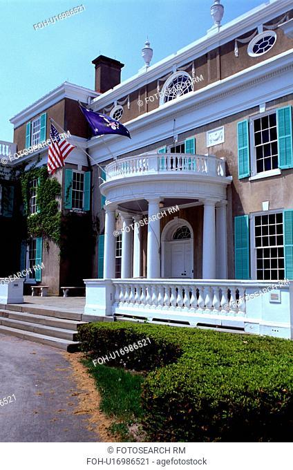 FDR, Hyde Park, New York, Home of Franklin Delano Roosevelt National Historic Site in Hyde Park, New York
