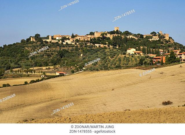 Montichiello in der Crete