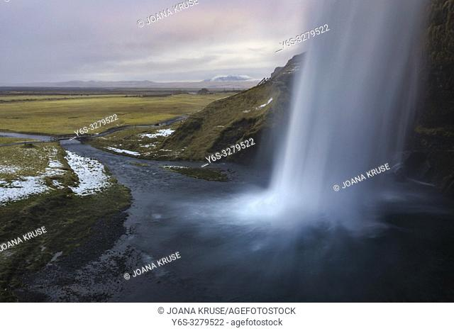 Seljalandsfoss, Sudurland, Iceland, Europe
